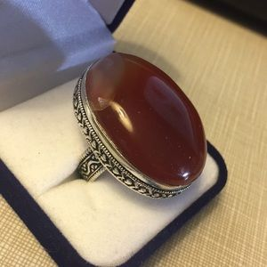 Jewelry - Gorgeous Natural Real 22.60 grams Red Onyx Ring
